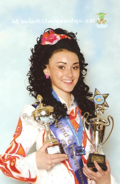Maiti Clark 2013 All Ireland Champion
